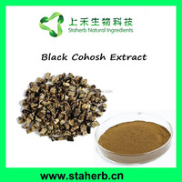 Hot sale Black Cohosh Root Extract Triterpene glycosides / Black Cohosh Extract