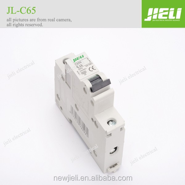 short time delivery JIELI c65n c60n circuit breaker mcb