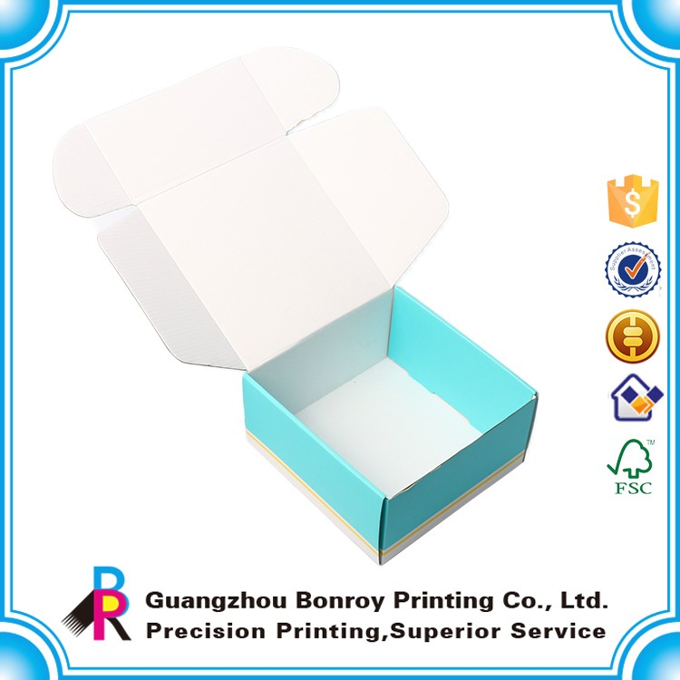 Printed Packaging Cardboard Triangle Corrugated Carton Boxes