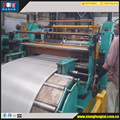aluminum coil slitting machine with rotary knife Loop type