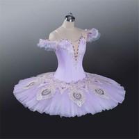 2017 New light purple girl's ballet tutu,ballet dance wear,ballet dance costumes ABT-072