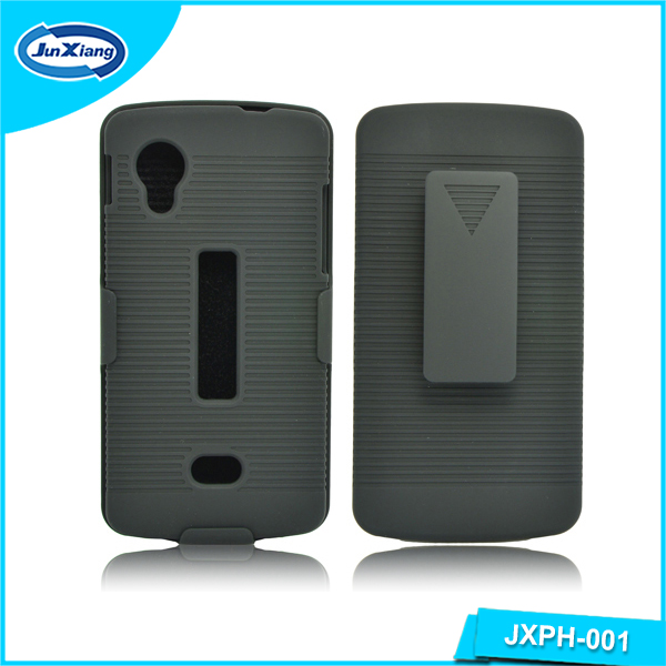 Best Selling Future Armor hybrid case holster combo cover for LG Nexus5