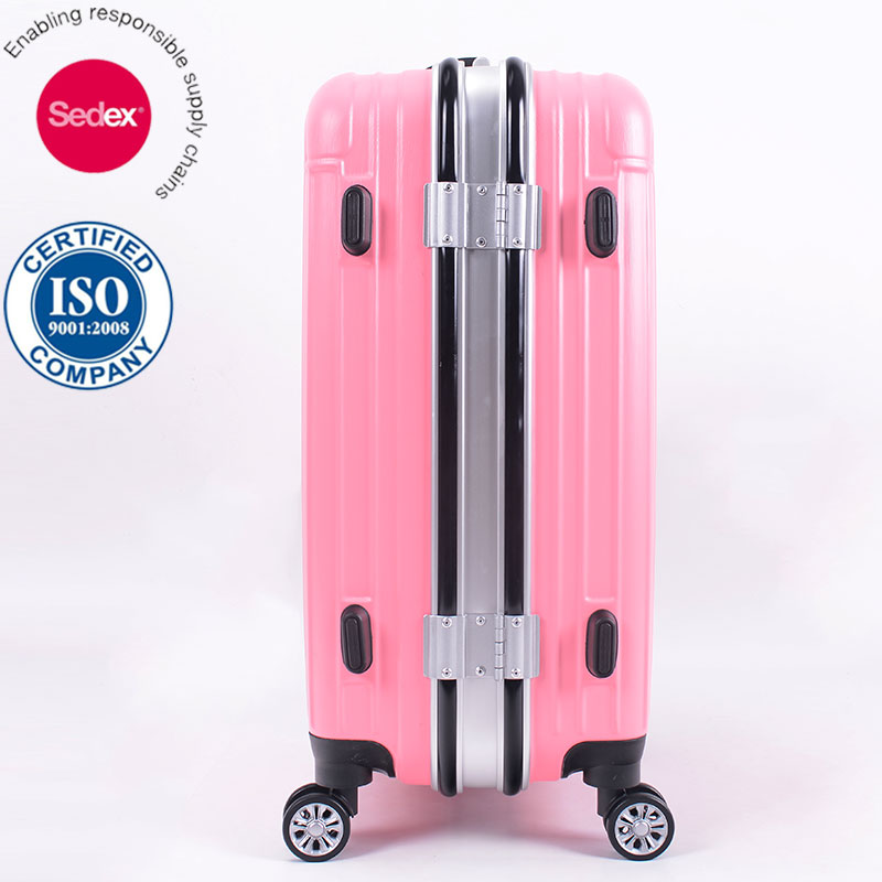 Buy Travel Luggage Factory Price Waterproof Aluminum Frame Travel Suitcase