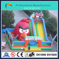 2015 popular giant inflatable amusement park, commercial inflatable fun city, outdoor kids inflatable playground