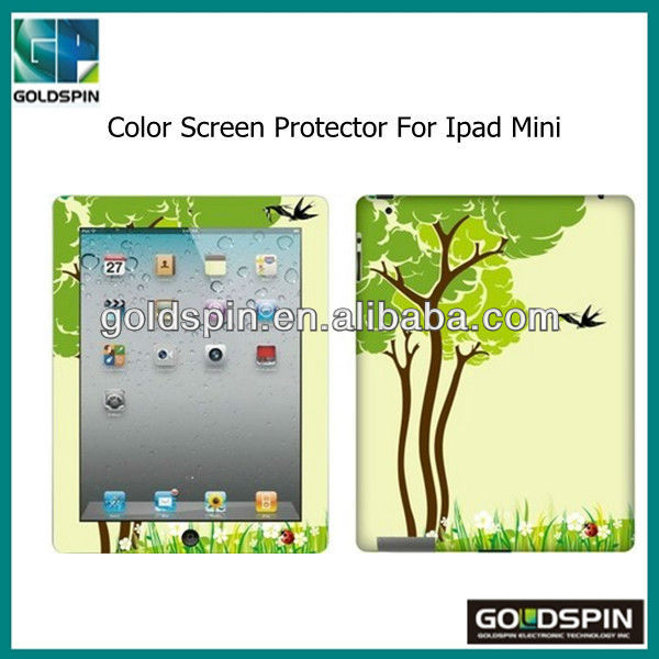 Manufacturer! Top Quality Color Screen Protector For Ipad Mini