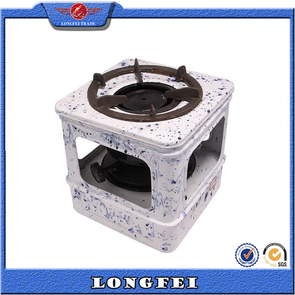 Beautiful design square chinese oil cooking stove