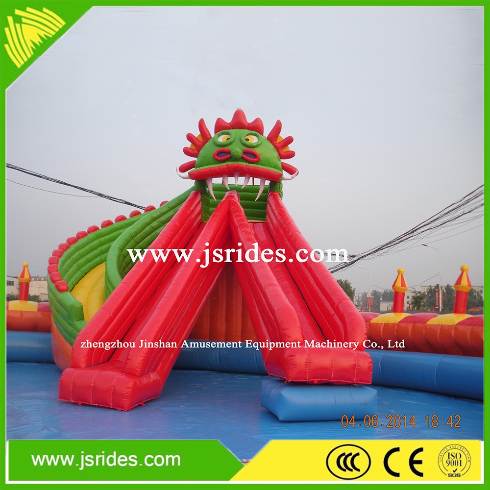 Funny Giant Inflatable Water Slide