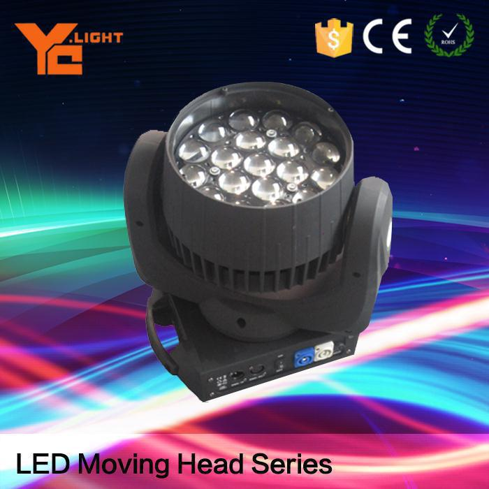 Tested Stage Light Maker 19x15w 4in1 Rgbw Two-Way Led Moving Head Beam