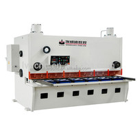 QC11Y-8*2500 heavy duty easy operation used metal plate shearing machine