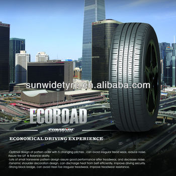 Sunwide Brand Best Quality Car Tyre Ecoroad Pattern