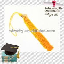 Gold Graduation Tassel with Year Charm