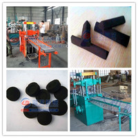 Wide use best service bbq shisha charcoal briquette extruder machine