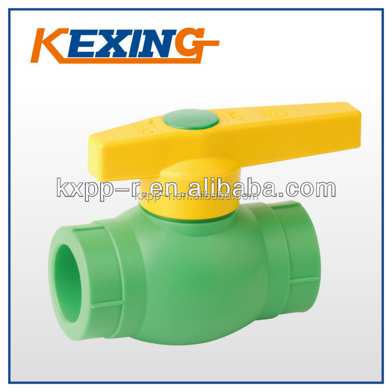 DIN 8077/8088 GERMAN STANDARD Water Supply Plastic Injection Pipe fitting brass ball ppr valves for cold / hot water