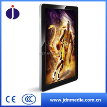 Ultra Narrow Frame lcd advertising digital video screen for commercial 26''