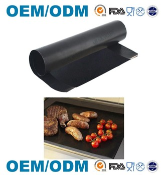 BBQ Grill Mats -100% Non-stick, easy to clean and reusable(Set of 2)