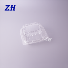good design clear disposable plastic small cake and bread box