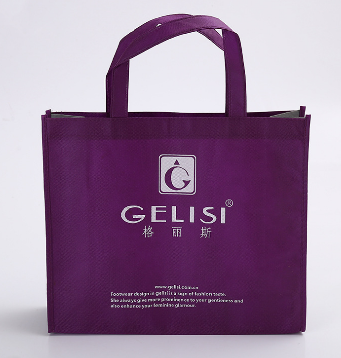 Wholesale advertising pp non-woven bags large shopping easy carry foldable nonwoven bag
