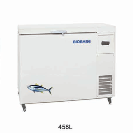 China BDF-60H458 -60 Degree Ultra Low Temperature Deep Freezer for Sea Food