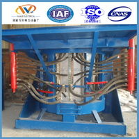 New product factory price metal scrap melting cast iron melting induction furnace