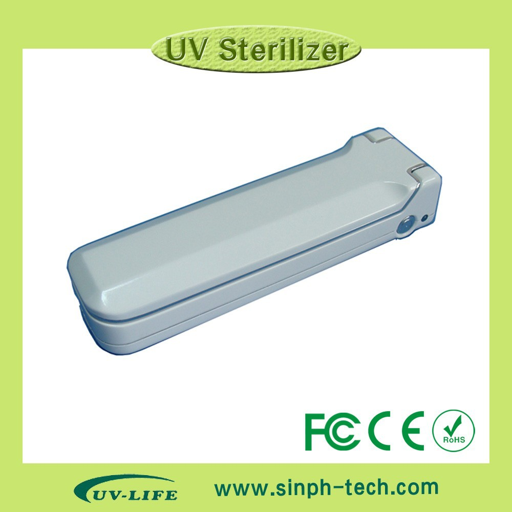 Pocket UV wand sterilizer UV-C lamp sanitizer for travel/business/family