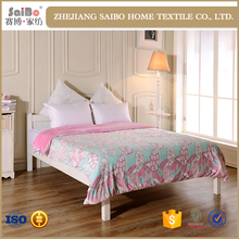 High Quality Luxury 100% 3d printed bed cover