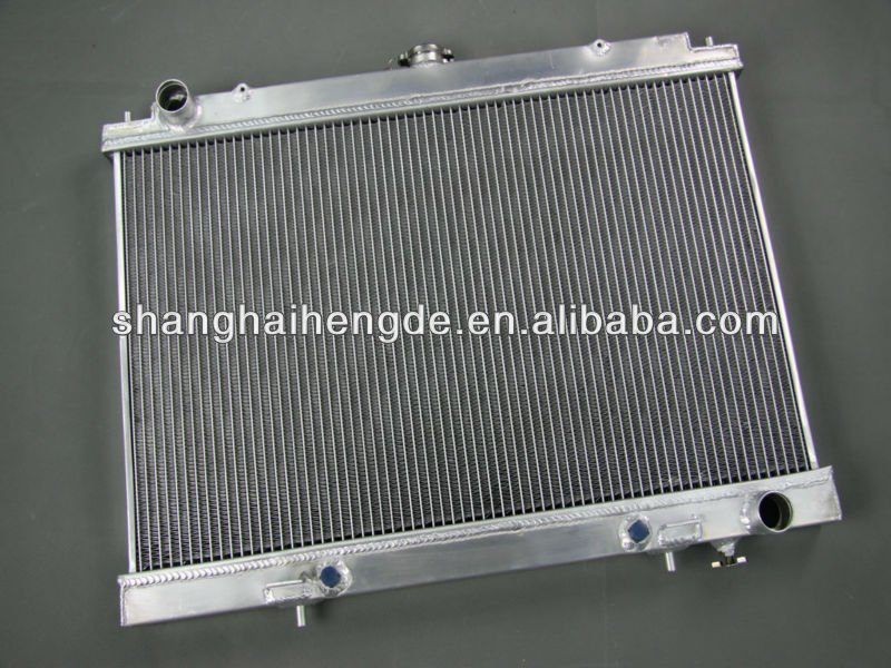 "Full aluminum radiator For Ford F-SuperDuty Truck (1""Tubes) 2 Row 1988-1997 cheap car radiators"