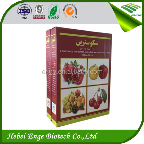 Eddha Fe 6% , effective micronutrient for treating Iron deficiency in plants