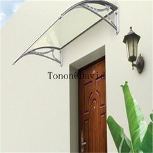 foshan polycarbonate awnings manufacturer high quality plastic door canopy awning (TN0044)