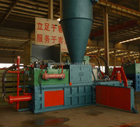 LOW COST!!! FDY horizontal hydraulic waste paper compress baler with cyclone
