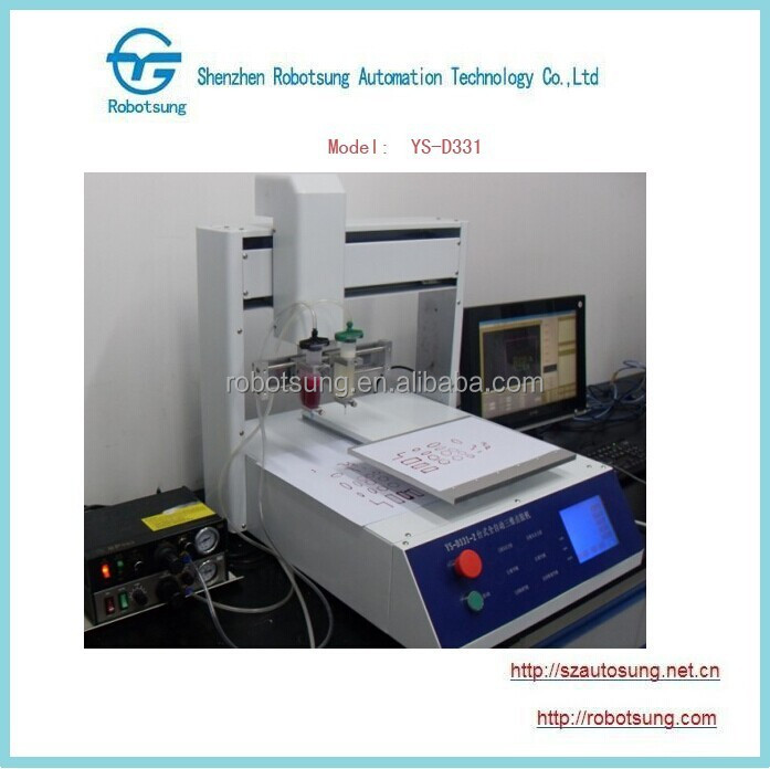 Automatic Liquid Glue Dispenser with Table 300*300mm
