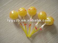 Lollipops (with clear wrapper)