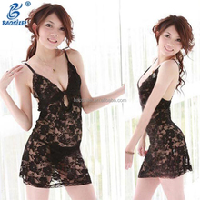 Fashion Latest Nighty Design Full Lace Hot Sexy Modern Nighty Wholesale