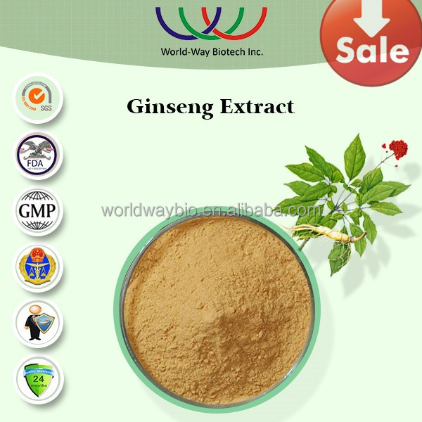 Free sample ! speeding up the sexual arousal panax ginseng extract , korean red ginseng extract