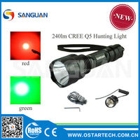 Export to USA LED hunting or bike light 18650 flashlight chrome 18650 flashlight led uv flashlight
