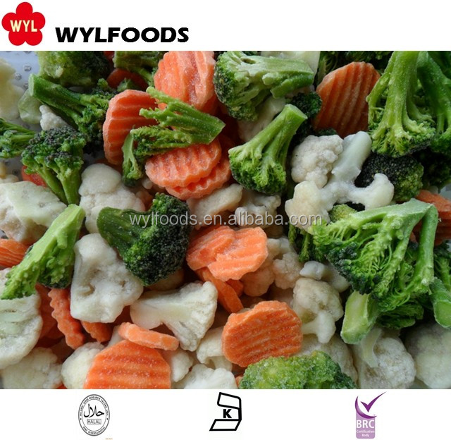 Good Price Wholesale Frozen IQF Mix Vegetables