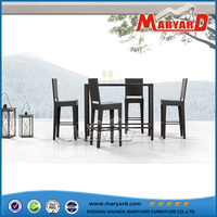 Garden Furniture Rattan bar chair and table set