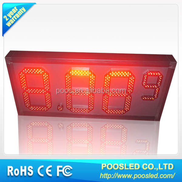 led fuel /diesel price signs \ fuel price sign \ led fuel sign