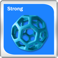 high quality molded rubber components blue rubber ball