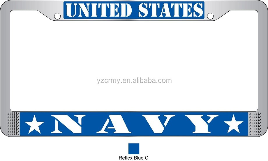 US ARMY license plate frames