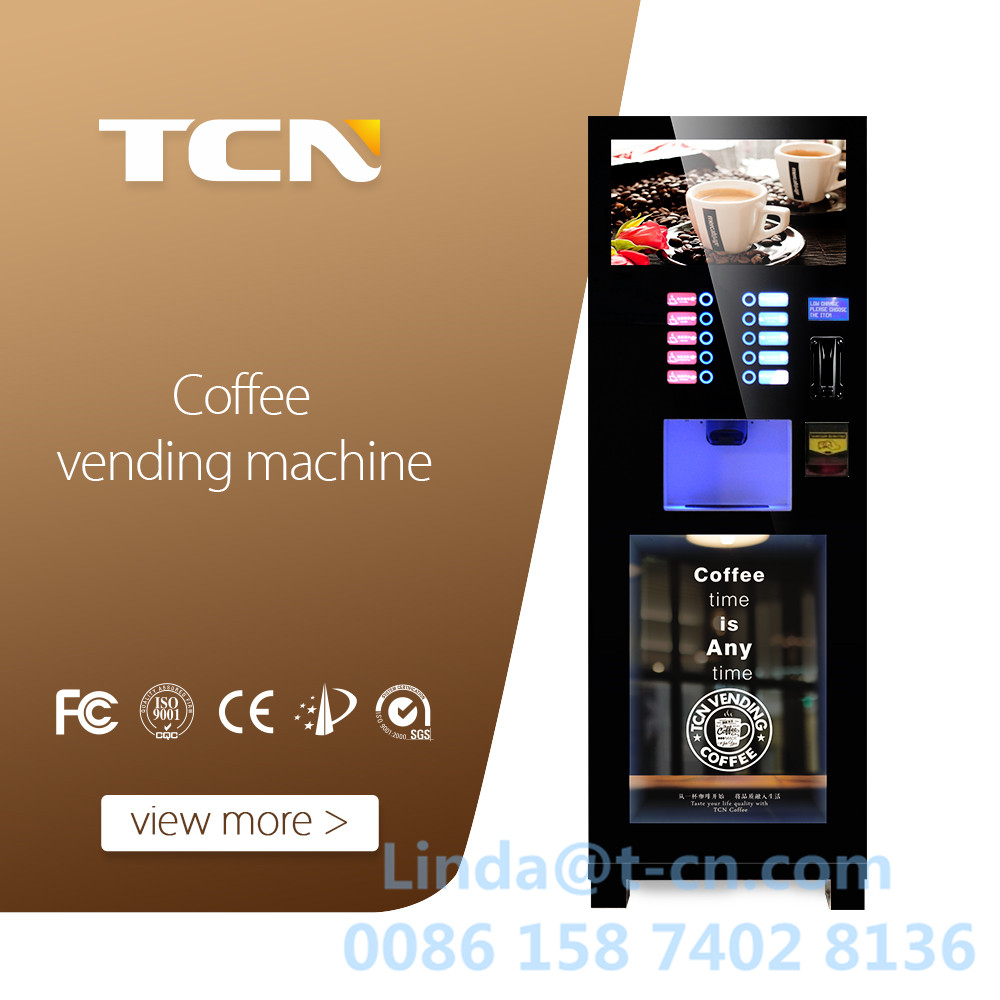Hot Sale! Automatic Coffee Vending Machine TCN-CL402(22HP) AAA