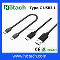 High speed USB 3.1 type C data cable to USB 3.0 data cable