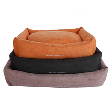 Lovely plush outdoor pet beds for dogs
