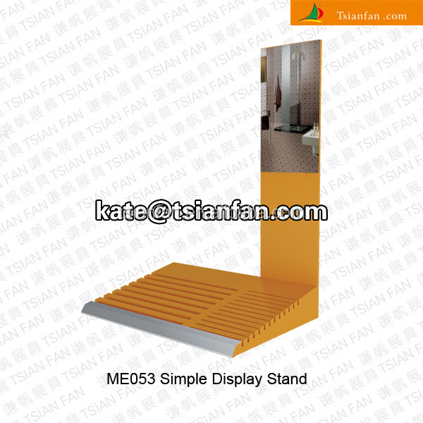 ME053-- Simple MDF tile display unit with signboard