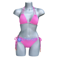 Miss Bali Universe Pink Double Strings Bikini