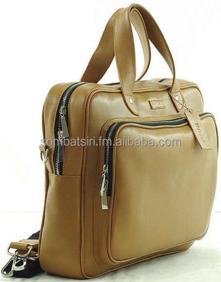 Real Leather Messenger Bag For Men