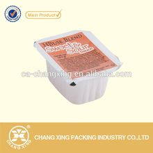Multilayer plastic peelable sealing film ,covering film,peel able sealing film for cup