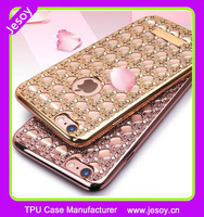 JESOY Electroplating Diamond Agate Soft Cover For iPhone 6 6s Case TPU