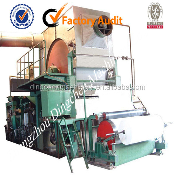 787mm 1tpd Small Kitchen Towel Paper Making Machine Automatic China Paper Machinery