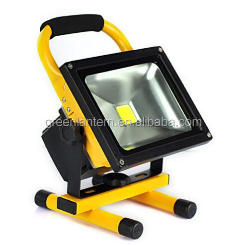 20W Cordless Portable Rechargeable Flood Spot Light LED Outdoor Search Work Lamp