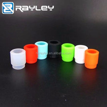 best selling products colorful e-cig silicone 810 drip tip / Disposable 510 soft drip tip wholesale